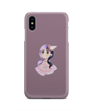 Cute Melanie Martinez Chibi for Simple iPhone XS Max Case