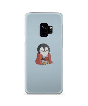 Cute Penguin Cartoon for Beautiful Samsung Galaxy S9 Case