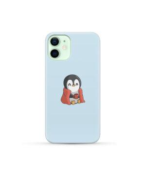 Cute Penguin Cartoon for Best iPhone 12 Mini Case Cover