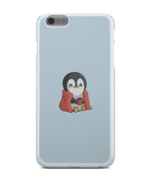 Cute Penguin Cartoon for Cool iPhone 6 Plus Case