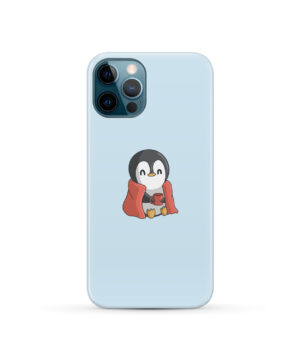 Cute Penguin Cartoon for Stylish iPhone 12 Pro Case Cover