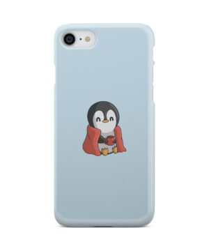 Cute Penguin Cartoon for Stylish iPhone 8 Case Cover