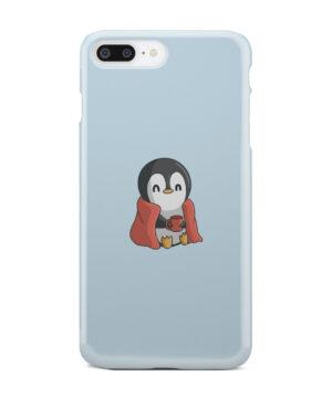 Cute Penguin Cartoon for Trendy iPhone 8 Plus Case Cover