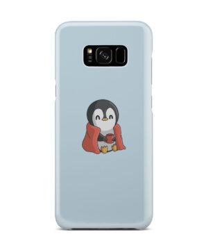 Cute Penguin Cartoon for Trendy Samsung Galaxy S8 Plus Case Cover