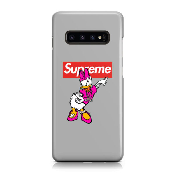 Daisy Duck Gangster for Newest Samsung Galaxy S10 Case