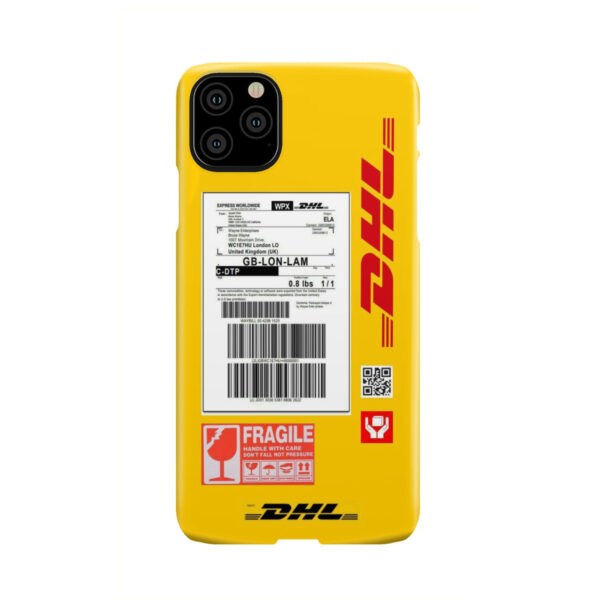 DHL WPX for Custom iPhone 11 Pro Max Case