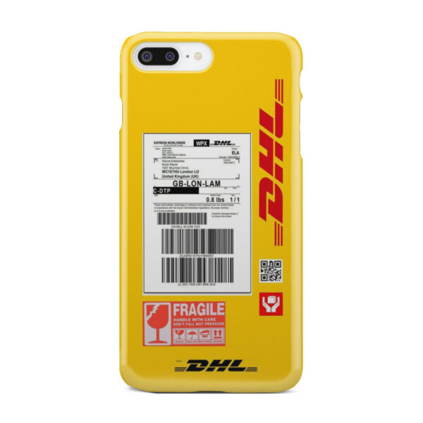 DHL WPX for Custom iPhone 7 Plus Case Cover
