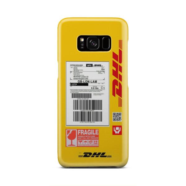 DHL WPX for Custom Samsung Galaxy S8 Case
