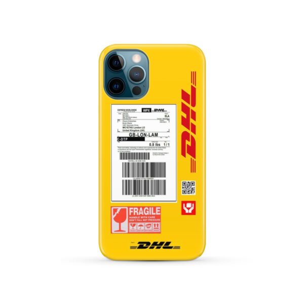 DHL WPX for Customized iPhone 12 Pro Case Cover