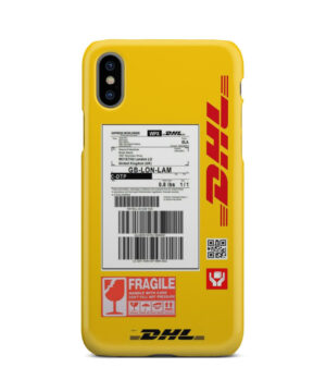 DHL WPX for Personalised iPhone X / XS Case