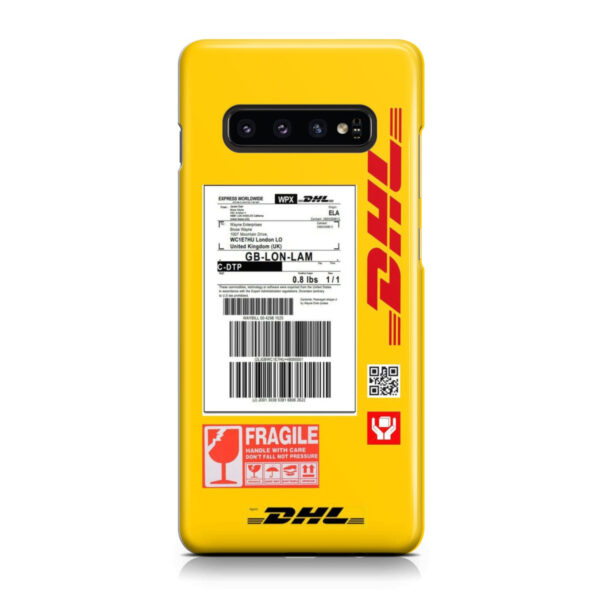 DHL WPX for Personalised Samsung Galaxy S10 Case Cover