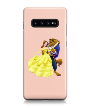Disney Beauty and The Beast for Nice Samsung Galaxy S10 Plus Case Cover