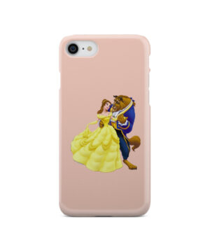 Disney Beauty and The Beast for Personalised iPhone SE 2020 Case Cover
