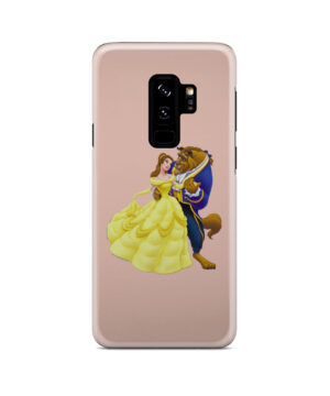 Disney Beauty and The Beast for Simple Samsung Galaxy S9 Plus Case Cover
