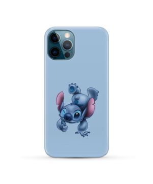 Disney Stitch Cartoon for Beautiful iPhone 12 Pro Case