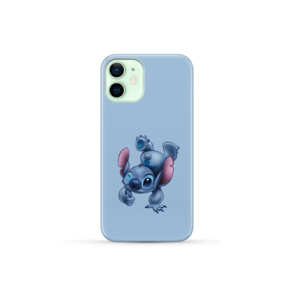 Disney Stitch Cartoon for Personalised iPhone 12 Mini Case Cover