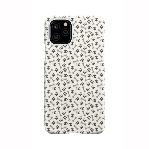 Dog Bone Paw for Amazing iPhone 11 Pro Case Cover