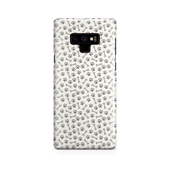 Dog Bone Paw for Amazing Samsung Galaxy Note 9 Case