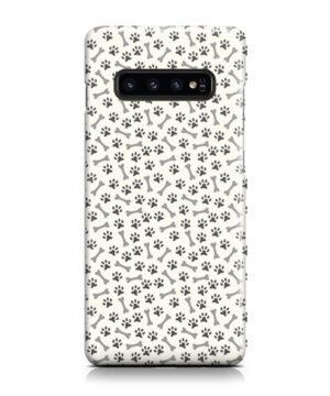 Dog Bone Paw for Amazing Samsung Galaxy S10 Case