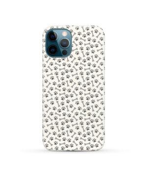 Dog Bone Paw for Best iPhone 12 Pro Case