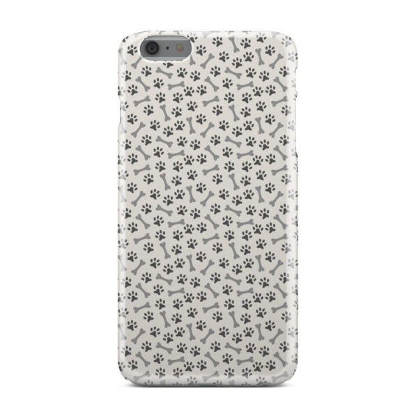 Dog Bone Paw for Customized iPhone 6 Plus Case Cover