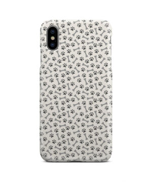 Dog Bone Paw for Customized iPhone XS Max Case Cover