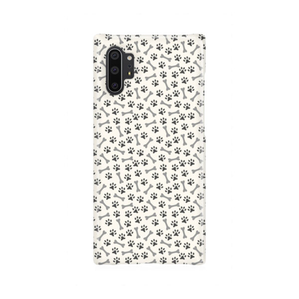 Dog Bone Paw for Newest Samsung Galaxy Note 10 Plus Case Cover