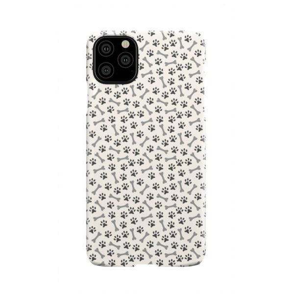 Dog Bone Paw for Premium iPhone 11 Pro Max Case Cover