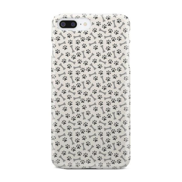 Dog Bone Paw for Premium iPhone 8 Plus Case Cover