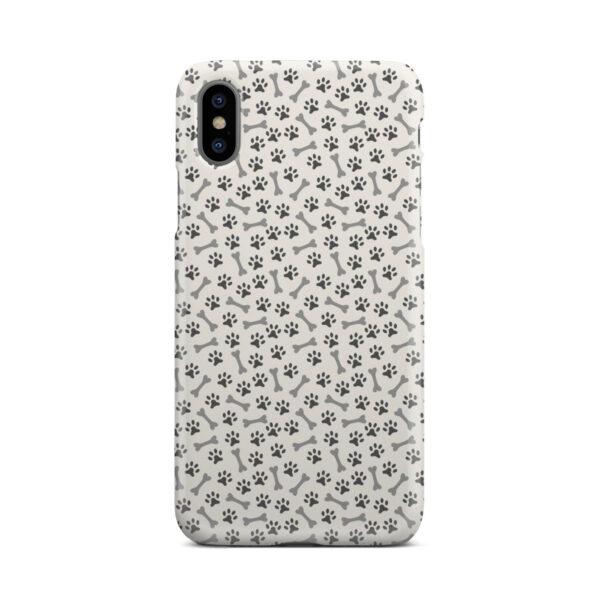 Dog Bone Paw for Premium iPhone X / XS Case Cover