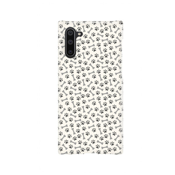 Dog Bone Paw for Simple Samsung Galaxy Note 10 Case Cover