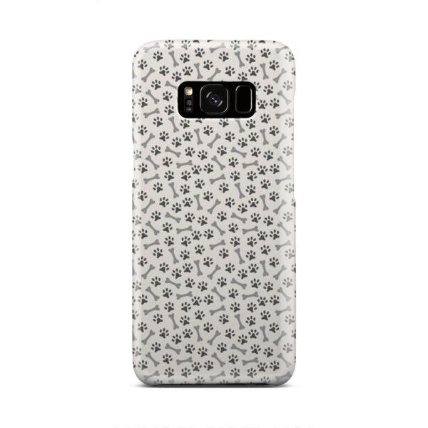 Dog Bone Paw for Trendy Samsung Galaxy S8 Case