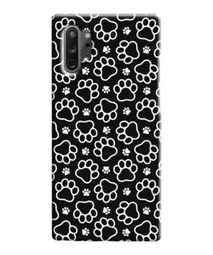 Dog Paw Footprint Pattern for Cool Samsung Galaxy Note 10 Case Cover