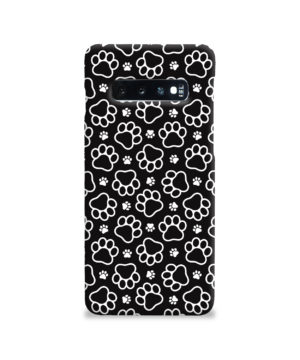 Dog Paw Footprint Pattern for Cool Samsung Galaxy S10 Case