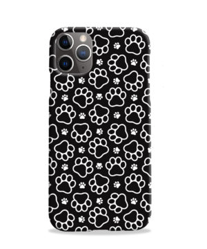 Dog Paw Footprint Pattern for Customized iPhone 11 Pro Case