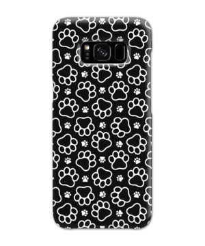 Dog Paw Footprint Pattern for Customized Samsung Galaxy S8 Case