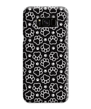 Dog Paw Footprint Pattern for Cute Samsung Galaxy S8 Plus Case Cover
