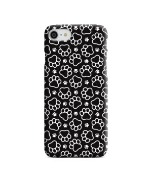 Dog Paw Footprint Pattern for Newest iPhone 7 Case Cover