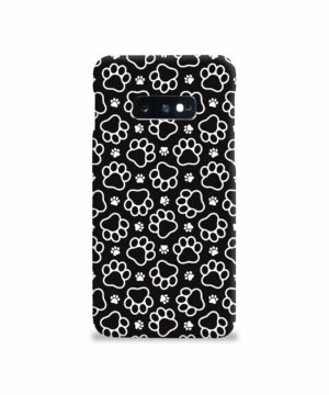 Dog Paw Footprint Pattern for Nice Samsung Galaxy S10e Case