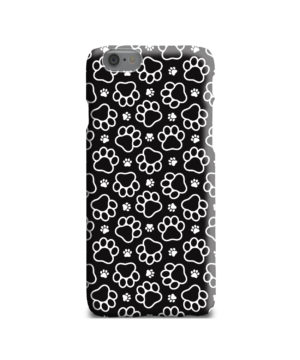 Dog Paw Footprint Pattern for Stylish iPhone 6 Case