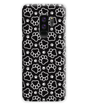 Dog Paw Footprint Pattern for Stylish Samsung Galaxy S9 Plus Case Cover
