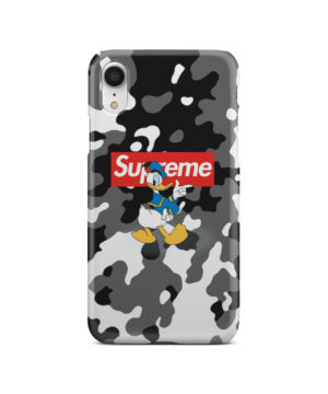 Donald Duck Camo for Best iPhone XR Case Cover