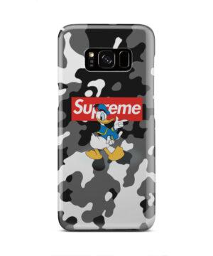 Donald Duck Camo for Nice Samsung Galaxy S8 Case Cover