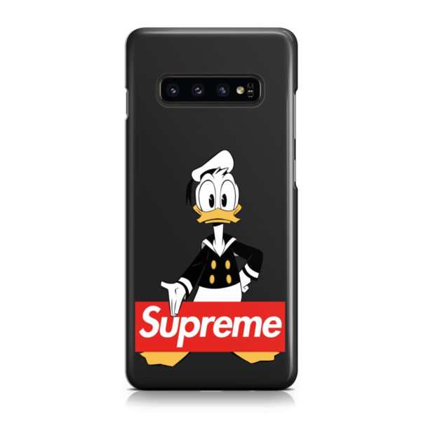 Donald Duck Supreme for Cool Samsung Galaxy S10 Plus Case Cover