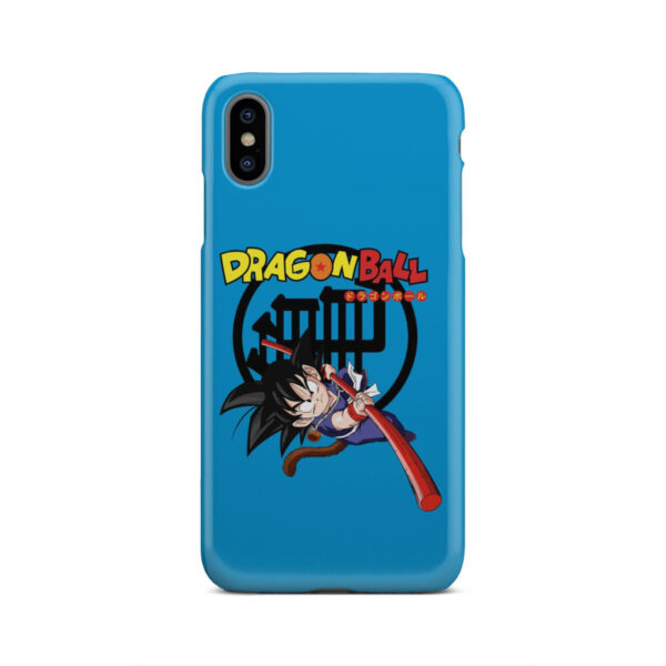 Dragon Ball Kid Goku for Nice iPhone XS Max Case Cover