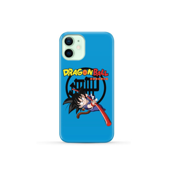 Dragon Ball Kid Goku for Personalised iPhone 12 Mini Case
