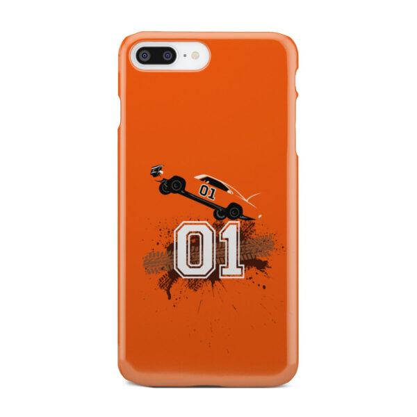 Dukes of Hazzard Orange Car for Beautiful iPhone 8 Plus Case Cover