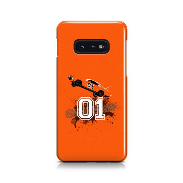 Dukes of Hazzard Orange Car for Newest Samsung Galaxy S10e Case Cover