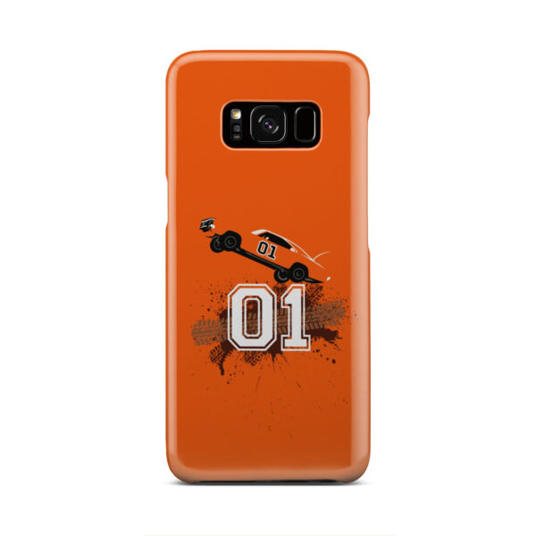 Dukes of Hazzard Orange Car for Nice Samsung Galaxy S8 Case