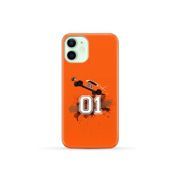Dukes of Hazzard Orange Car for Personalised iPhone 12 Mini Case Cover